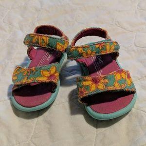 3e8e4fc7c25 Toms toddler 4 floral sandals